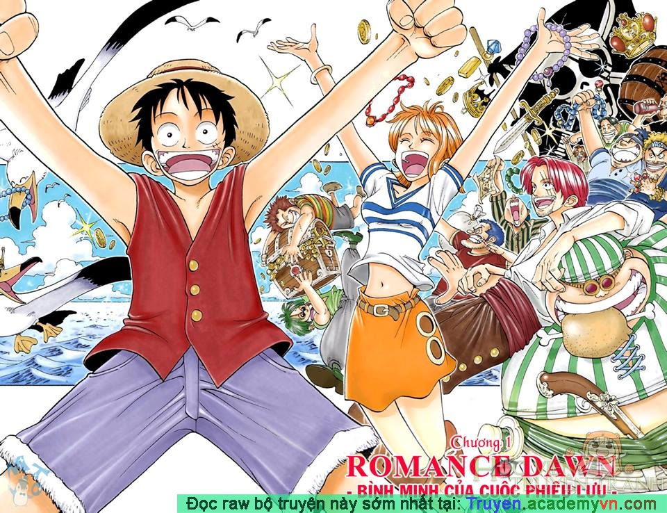 ONE PIECE - Full color